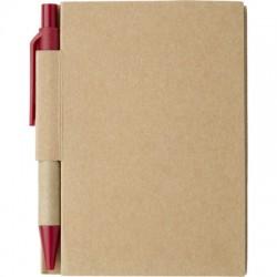 Notatnik ok. A7 z długopisem