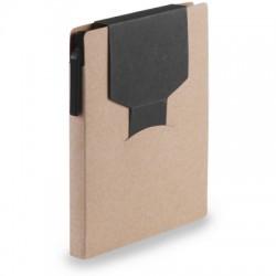 Zestaw do notatek, notatnik A6, karteczki samoprzylepne, długopis