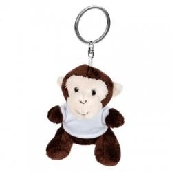 Pluszowa małpka, brelok | Karly