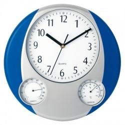Zegar ścienny, stacja pogodowa