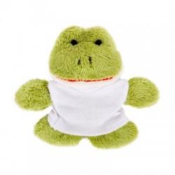 Pluszowa żaba, magnes | Hoppy
