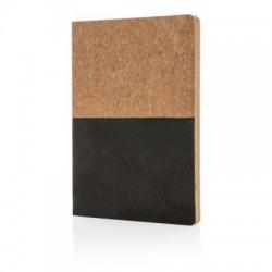 Korkowy, ekologiczny notatnik A5