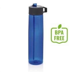 Butelka sportowa 750 ml ze słomką