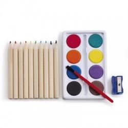 Zestaw do malowania i rysowania