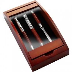 Zestaw piśmienny, ołówek mechaniczny i długopis