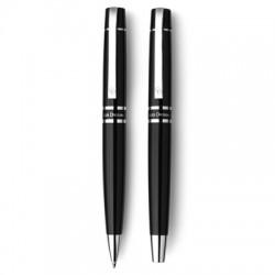 Zestaw piśmienny Charles Dickens, długopis i pióro kulkowe