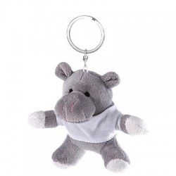 Pluszowy hipopotam, brelok | Iggy